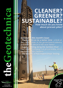theGeotechnica April 2014 cover