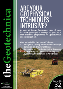 theGeotechnica August 2014 cover