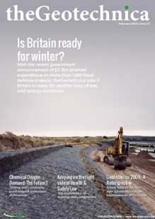 theGeotechnica February 2015 cover