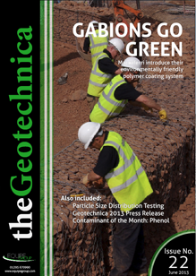 theGeotechnica June 2013 cover