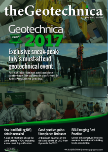 theGeotechnica June cover