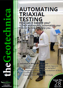 theGeotechnica March 2014 cover