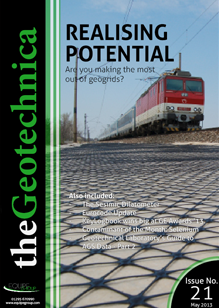 theGeotechnica May 2013 cover