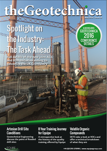 theGeotechnica May 2016 cover