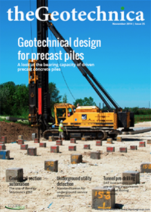 theGeotechnica November 2014 cover