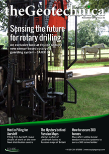 theGeotechnica November 2015 cover