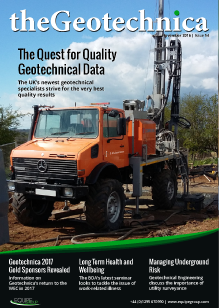 theGeotechnica November 2016 cover