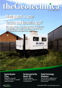 theGeotechnica October 2015 cover
