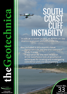 theGeotechnica September 2014 cover